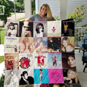 Barbra Streisand Style 4 Quilt Blanket