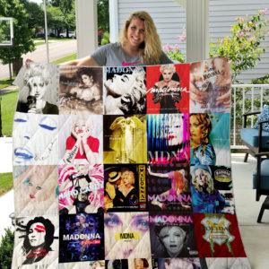 Madonna Style Three Quilt Blanket