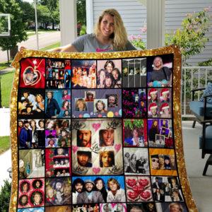 Beegees custom quilt blanket ver 01