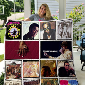 Bobby Womack Quilt Blanket