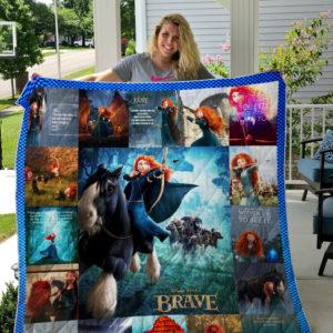 Brave  Quilt Blanket
