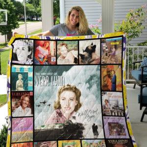 Vera Lynn Quilt Blanket