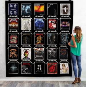 Metallica Albums Quilt