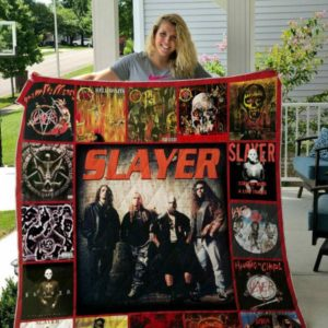 Slayer Style 3 Quilt Blanket