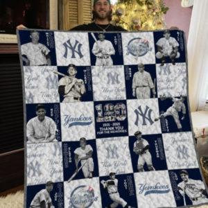 Mlb New York Yankees Plus Size Quilt Blanket