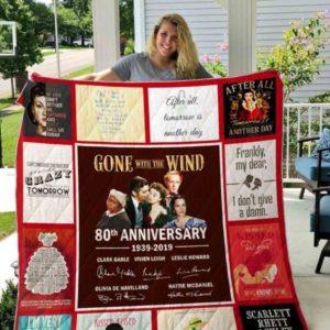 Gone With The Wind Ver 01 All Season Plus Size Quilt Blanket