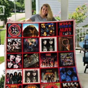 Kiss Band Ver 01 All Season Plus Size Quilt Blanket