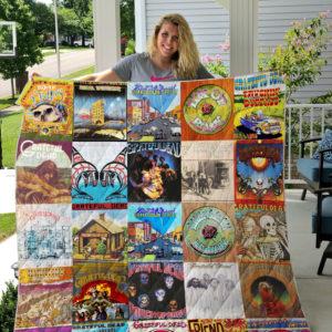 Grateful Dead Albums Quilt Blanket For Fans Ver 25
