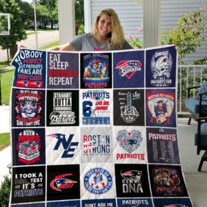 New England Patriots Quilt Blanket 02