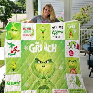 The Grinch All Season Plus Size Quilt Blanket Ver 2