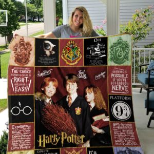 Harry Potter All Season Plus Size Quilt Blanket Ver 2