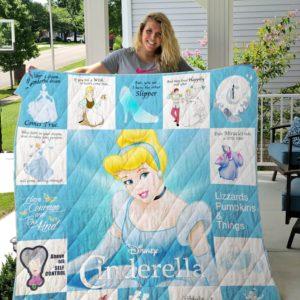 Cinderella Quilt Blanket For Fans