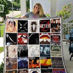 Metallica Albums Cover Poster Quilt Blanket Ver 16