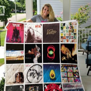 Pearl Jam Quilt Blanket 02