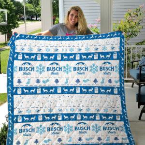 Busch latte Quilt Blanket