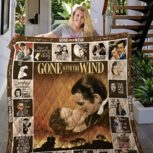 Gone With The Wind Quilt Blanket