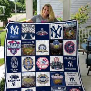 New York Yankees Quilt Blanket