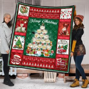 Owl Christmas Tree Merry Christmas Quilt Blanket Great Customized Blanket Gifts For Birthday Christmas Thanksgiving