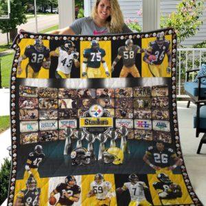 Pittsburgh Steelers Quilt Blanket 01