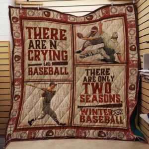 There Are Only Two Seasons Winter And Baseball Quilt Blanket Great Customized Blanket Gifts For Birthday Christmas Thanksgiving