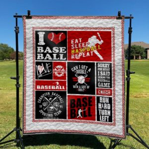 Sorry For What I Said During The Baseball Game Quilt Blanket Great Customized Blanket Gifts For Birthday Christmas Thanksgiving