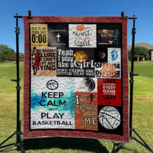Basketball Love Is Playing Every Game As If It's Your Last Quilt Blanket Great Customized Blanket Gifts For Birthday Christmas Thanksgiving