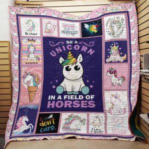 Unicorn Quilt Blanket