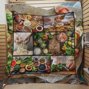 Chef Life Greatest Chef Quilt Blanket Great Customized Blanket Gifts For Birthday Christmas Thanksgiving