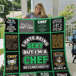 Chef Choose Your Weapon Quilt Blanket Great Customized Blanket Gifts For Birthday Christmas Thanksgiving