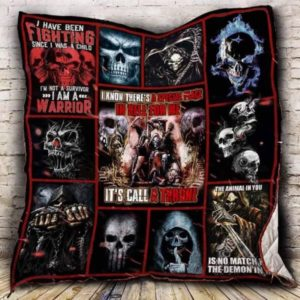 I Know There's A Special Place In Hell For Me It's Call A Throne Quilt Blanket Great Customized Blanket Gifts For Birthday Christmas Thanksgiving