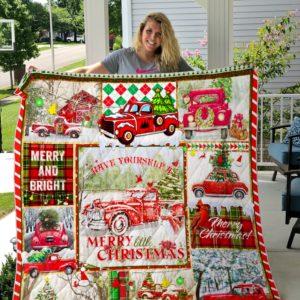 Merry Christmas-Quilt-Blanket