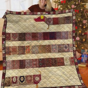 Dachshund Vintage Quilt Blanket Great Customized Blanket Gifts For Birthday Christmas Thanksgiving Perfect Gifts For Dachshund Lovers