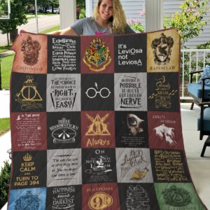 Harry Potter Quilt Blanket 2021