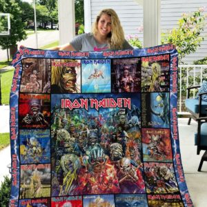 Iron Maiden Quilt Blanket Gifts For Fans Birthday Christmas V2