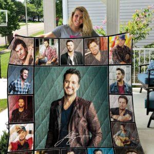 Luke Bryan Quilt Blanket