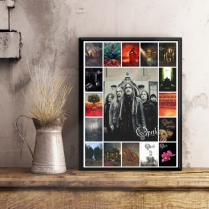 Opeth Albums Cover Poster, Wall Art Poster, Home Decor