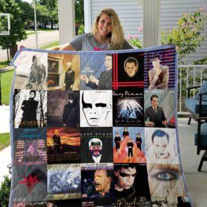 Gary Numan Quilt Blanket