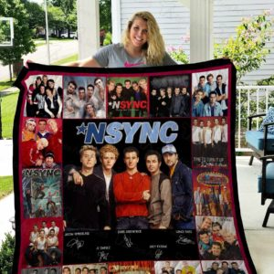 Nsync Quilt Blanket Gifts Idea For Fans
