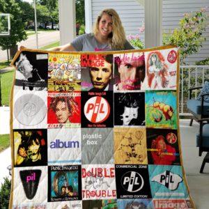 Public Image Limited Quilt Blanket