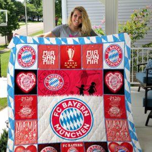 Bayern Munich Quilt Blanket Ver 12