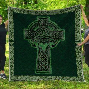 Irish Decor Saint Patrick's Day Quilt Blanket Great Customized Blanket Gift For Anniversary