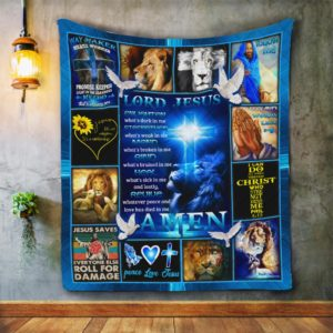 Lord Jesus Light Cross It's A Relationship Quilt Blanket Great Customized Blanket Gifts For Birthday Christmas Thanksgiving