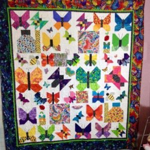Various Butterfly Patchwork Quilt Blanket Great Customized Blanket Gifts For Birthday Christmas Thanksgiving