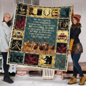 Deer Hunting Quilt Blanket I Love Big Racks Quilt Blanket Great Customized Gifts For Birthday Christmas Thanksgiving Perfect Gifts For Hunting Lover