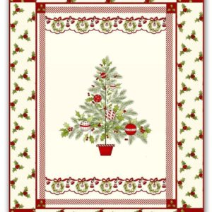 Christmas Tree Christmas Berries Christmas Pattern Theme  Quilt Blanket Great Customized Blanket Gifts For Birthday Christmas Thanksgiving
