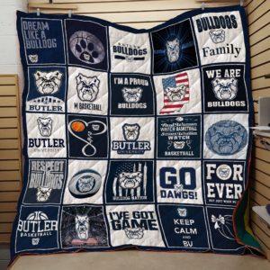 Butler Bulldogs Basketball Quilt Blanket Great Customized Blanket Gifts For Birthday Christmas Thanksgiving