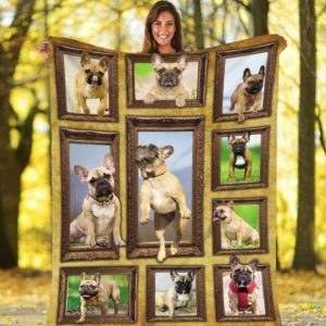 French Bulldog Who Is The Fairest Awesome Quilt Blanket Great Customized Blanket Gifts For Birthday Christmas Thanksgiving