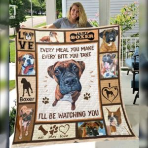 Boxer Every Meal You Make Every Bite You Make Great Customized Blanket Gifts For Birthday Christmas Thanksgiving Anniversary
