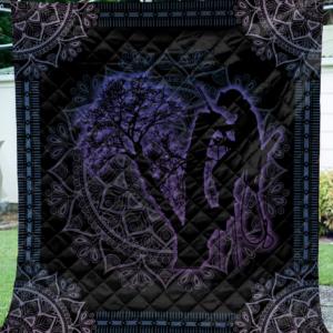 Mandala Arborist Quilt Blanket Great Customized Blanket Gift For Birthday Christmas Anniversary