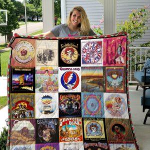 Grateful Dead Quilt Blanket Ver 11